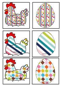 Juf Emmy! Memory de kip en het ei Deel 3