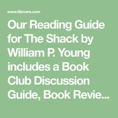 21 Best The Shack Book Talk Images On Pinterest Words 10 Year Old