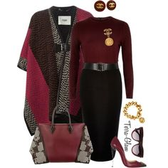 A fashion look from January 2016 by terra-glam featuring River Island, Fendi, Christian Louboutin, Louis Vuitton, Chanel, Valentino, women's clothing, women's f...
