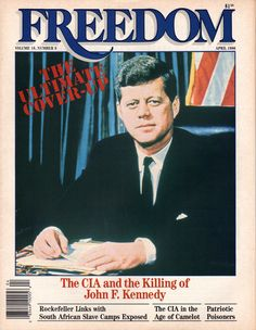 The CIA and the killing of John F. Kennedy.