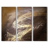 Found it at Wayfair Australia - 3 Piece Abstract Canvas Painting Set