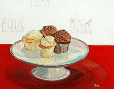 The work of AAAD's Artist of the Day, painter Jennie Traill Schaeffer, is a sweet treat.  Should you be our next #artist of the day? Be sure to let us know!