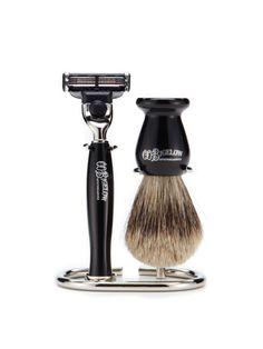 c.o. bigelow shaving set