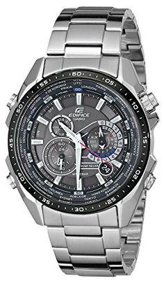 Casio Men's EQS500DB-1A1 Edifice Tough Solar Stainless Steel Multi-Function Watch with Link Bracelet Casio http://smile.amazon.com/dp/B003URWNQE/ref=cm_sw_r_pi_dp_.U.Yvb0868DG6