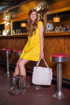 How to wear dresses with cowboy boots