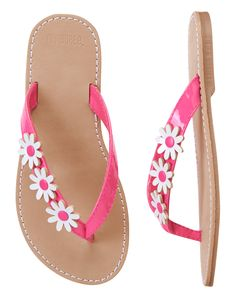 bf68ff80d80 Daisy Flip Flops at Gymboree Cute Outfits For Kids