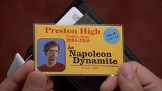 Napoleon Dynamite / Jared Hess / Comedia http://www.artofthetitle.com/title/napoleon-dynamite/