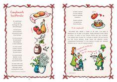 "Spread from the book. Illustration ""bruschettas"" recipe"