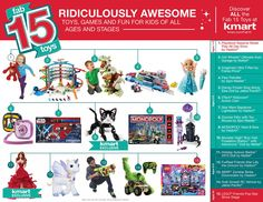#ad Need Inspiration? Check out Kmart Fab 15 Toy List! #Fab15Toys
