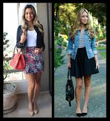 looks com jaqueta jeans - Pesquisa Google
