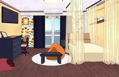 Dorm Layout, Dorm Room Layouts, Dorm Rooms, Tomboy Art, Dorm Design, Girl Dorms, Episode Backgrounds, Hero Costumes, Dormitory