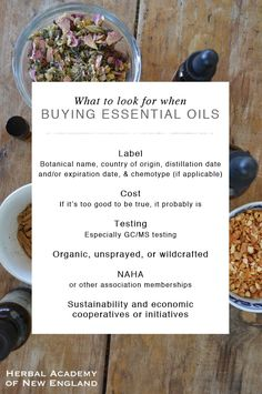 What to Look for When Buying Quality Essential Oils