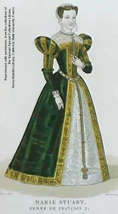 """Mary Stuart alias """"Mary, Queen of Scots"""" (1542-1587), wife of François II, King of France."""