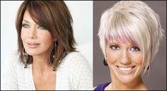 Fast & Easy Short Frisuren für ältere Frauen über 40-60 - Frisuren ...   Einfache Frisuren