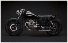 "Venier Customs '87 Moto Guzzi V35 C -""Diabola"" - Pipeburn - Purveyors of Classic Motorcycles, Cafe Racers & Custom motorbikes"