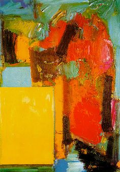 Hans Hofmann. Smaragd Red and Germinating