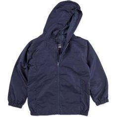 George Boys' School Uniforms, Packable Jacket, Size: M (8), Blue