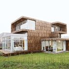 A Super Recycled House in the Netherlands  In the eastern Netherlands, Superuse Studios built a home almost entirely out of locally sourc...