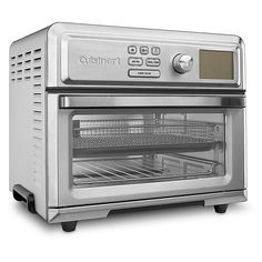 Shop for cuisinart air fryer at Bed Bath & Beyond. Buy top selling products like Cuisinart® Air Fryer Toaster Oven and Cuisinart® Digital Air Fryer Toaster Oven in Stainless Steel. Cool Kitchen Gadgets, Small Kitchen Appliances, Cool Kitchens, Air Fryer Review, Steel Bed, Fries In The Oven, Cooking Utensils, Toaster, Baking Pans