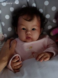 Reborn, Asian, baby, doll, child, girl, prototype Kana, Ping Lau Real Looking Baby Dolls, Life Like Baby Dolls, Life Like Babies, Real Baby Dolls, Reborn Toddler Dolls, Reborn Dolls, Silicone Reborn Babies, Lifelike Dolls, Asian Babies