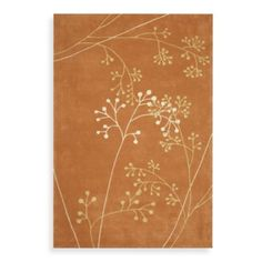 Safavieh Soho Rust Botanical Wool 6' x 6' Square Rug - BedBathandBeyond.com