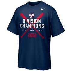 Celebrate the Nats' division title with the gear the pros wear!