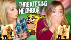 CRAZY NEIGHBOR THREATENS TO EVICT ME DURING CHALLENGE VIDEO (LIVE FOOTAGE)