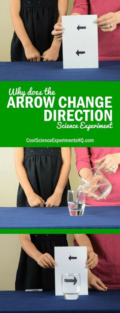 Why does the Arrow Change Direction Science Experiment Steps