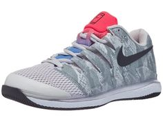 Nike Air Zoom Vapor X Knit Women's Tennis Shoe Platinumpurple