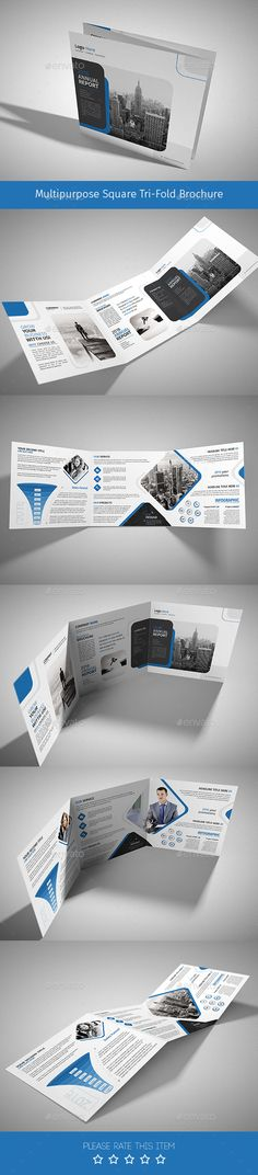 Corporate Tri-fold Square Brochure Template PSD. Download here: http://graphicriver.net/item/corporate-trifold-square-brochure-10/15101910?ref=ksioks