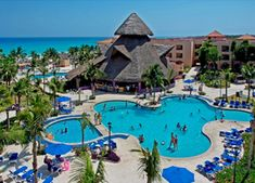 Playa Del Carmen - Sandos Playacar Beach Resort and Spa - All-Inclusive Cancun Hotels, Mexico Resorts, Mexico Vacation, Vacation Deals, Vacation Resorts, Vacation Places, Best Vacations, Beach Resorts, Hotels And Resorts