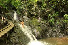 los suenos waterfall slide   - Costa Rica