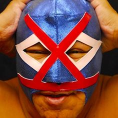 Carnival, Wrestling, Superhero, Face, Painting, Fictional Characters, Aztec Warrior, Cool Photos, Mexican Art