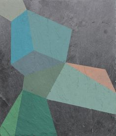 Geometric abstraction by artist Henriette Fabricius