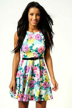 Cute Fashion, Teen Fashion, Fashion Outfits, Style Fashion, Dress Outfits, Dress Up, Cute Outfits, Skater Dress, Dresses For Teens