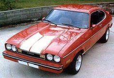 1976 Ford Capri, my first car