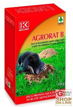 KOLLANT AGRORAT B ESCA IN BOCCONI PER TALPE TOPI E RATTI GR. 350 https://www.chiaradecaria.it/it/talpicida/9454-kollant-agrorat-b-esca-in-bocconi-per-talpe-topi-e-ratti-gr-350-8002297062701.html