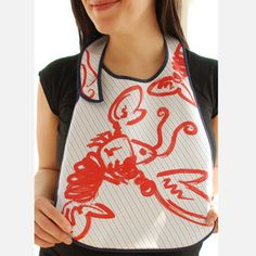 Lobster Bibs Blue 2 Pack now featured on Fab.