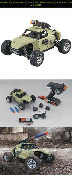 Dromida 1/18 Wasteland RC Buggy 4WD Ready to Run (RTR) with Battery & Charger #dromida #fpv #shopping #plans #camera #m370 #gadgets #racing #motor #technology #products #parts #drone #tech #kit