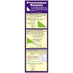 PYTHAGOREAN THEOREM COLOSSAL POSTER