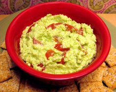 Healthy Recipe: Edamole      If you're a fan of guacamole, but don't like that it's high in calories and fat (even though it's healthy fat), then you're going to go crazy for this alternative.