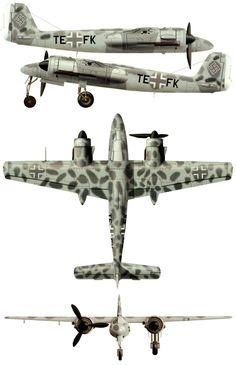 Focke Wulf TA 154