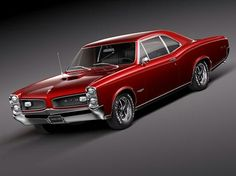 Red Clean Pontiac GTO