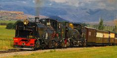 There's a farm in the eastern Free State where steam trains on narrow-gauge tracks keep the culture of the old locomotive alive and running. Locomotive Engine, Steam Locomotive, South African Railways, Old Steam Train, Abandoned Train, Steam Railway, Free State, Steam Engine, West Africa