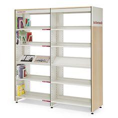 Estantería para libros BBL = diseño y edición Mobles 114 + instalación Contel