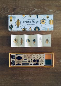 Stamp bugs / Princeton Architectural Press on Behance Up Book, Book Art, Collage, Bug Parts, Stationery Companies, Ex Libris, Tampons, Ink Pads, Art Plastique