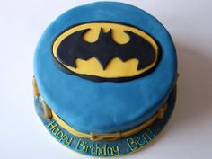 Batman Birthday Cakes Pictures