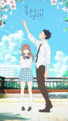 Noe acuerdo el nombre de esta película pero vean la esta bellísima Kawaii Anime, Another Misaki, A Silent Voice, Manga Anime, Anime Art, Animes Wallpapers, Anime Love, Aesthetic Anime, Scenery Wallpaper