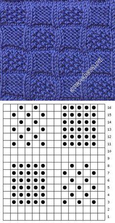 Baby Knitting Patterns, Knitting Stiches, Knitting Charts, Loom Knitting, Stitch Patterns, Crochet Patterns, Crochet Carpet, How To Purl Knit, Knitting Projects