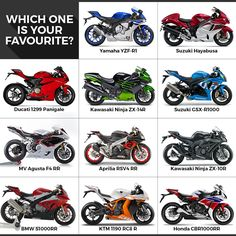Which one is your favourite superbike?